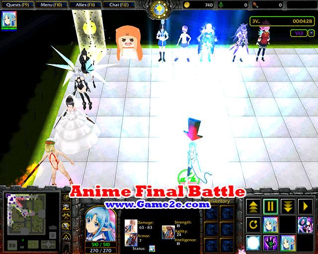 Anime final battle v1.4