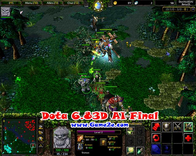 Dota 6.83d AI final