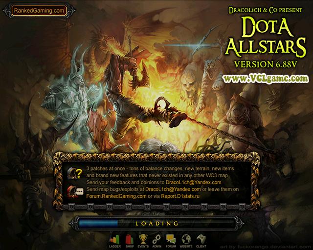 of dota allstar